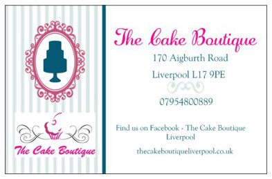 The Cake Boutique Liverpool